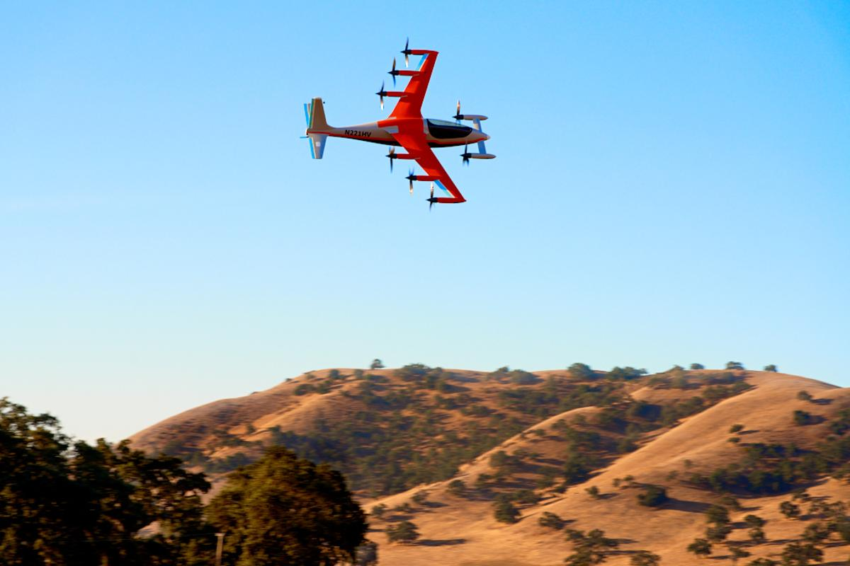 The Heaviside follows in the footsteps of the Flyer, which emerged in 2017, and the Cora, a two-seat electric aircraft designed with short trips in mind