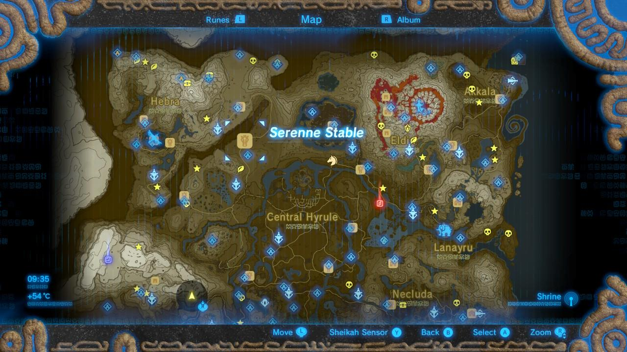 Start this side quest at the Serenne Stable