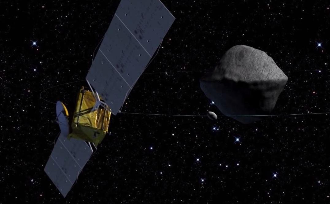 The CubeSats would hitch a ride with ESA's Asteroid Impact Mission (Image:ESA/APL)