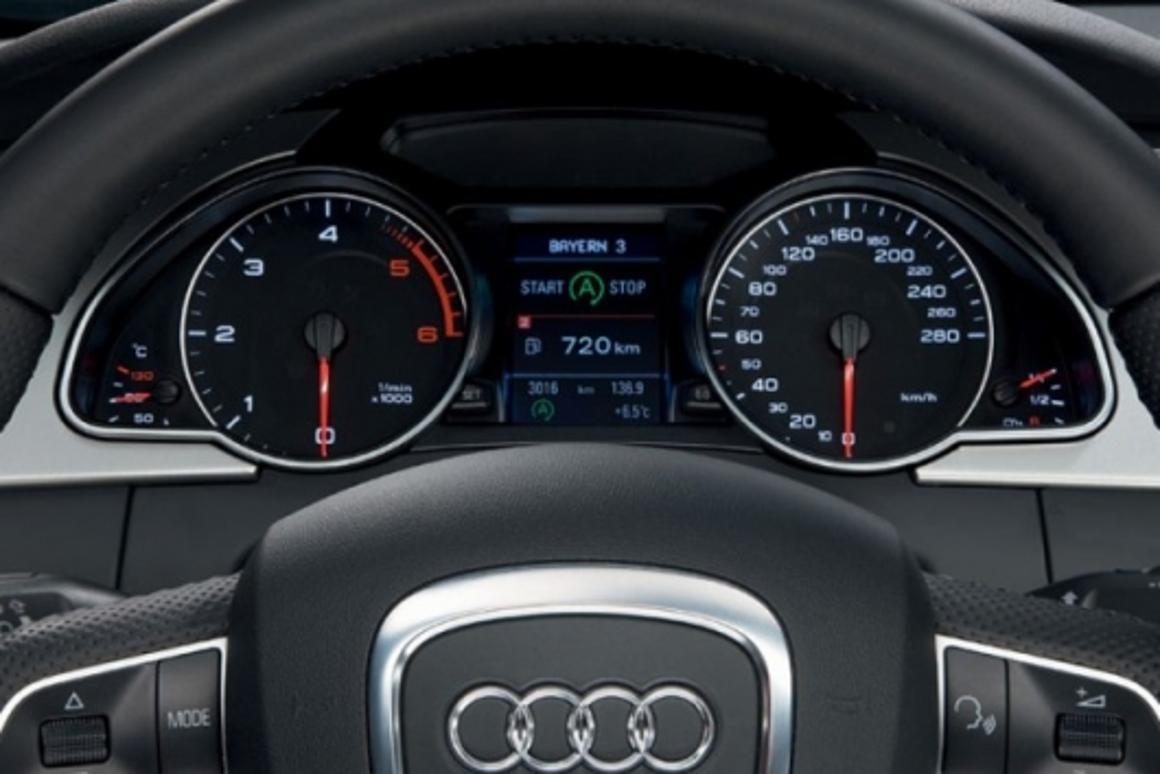 Audi's new start-stop system