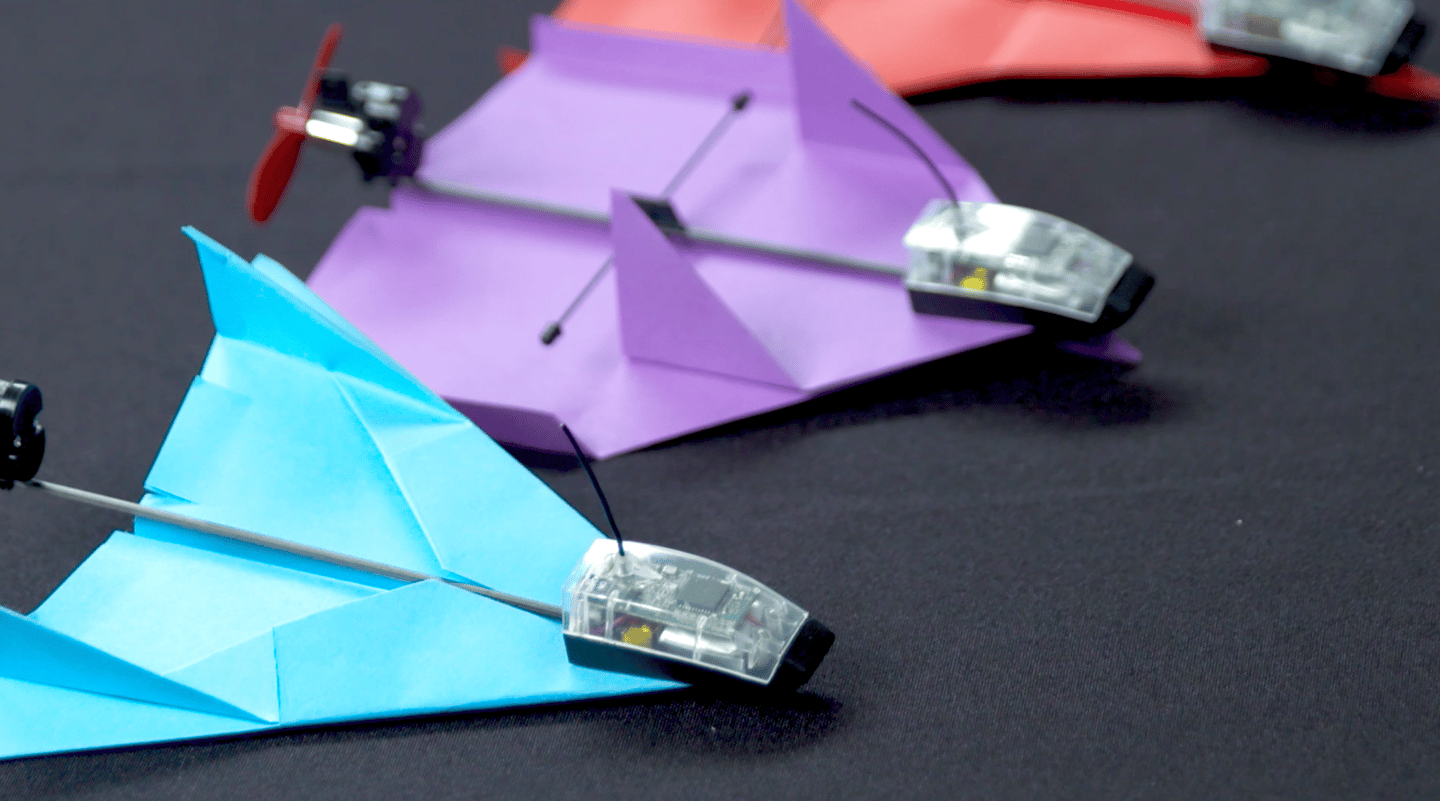 There are several folding templates for the PowerUp Dart, depending on what sort of flying you wish to do