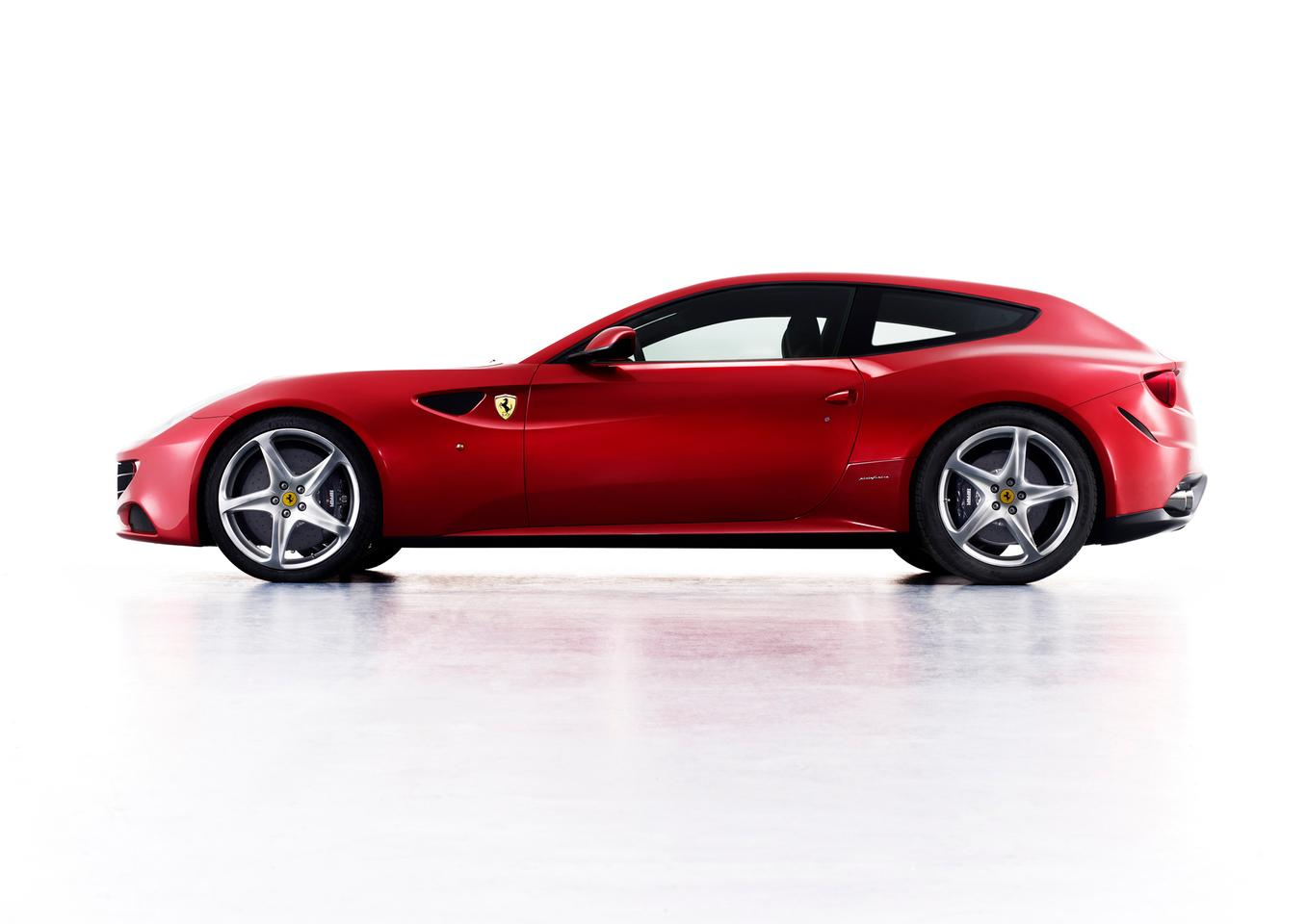 Ferrari's new four-seat, four-wheel-drive, 660 bhp V12 FF