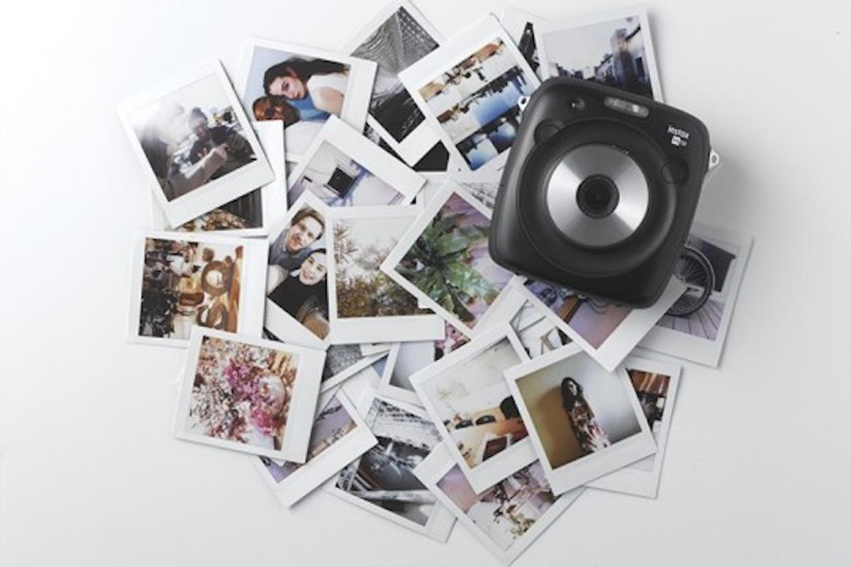 Fujifilm's Instax Square SQ10 brings some digital convenience to an instant film camera