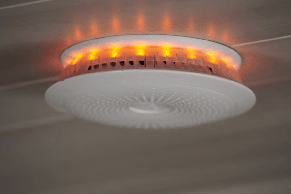 Halo is a smoke detector that also alerts homeowners of natural disasters