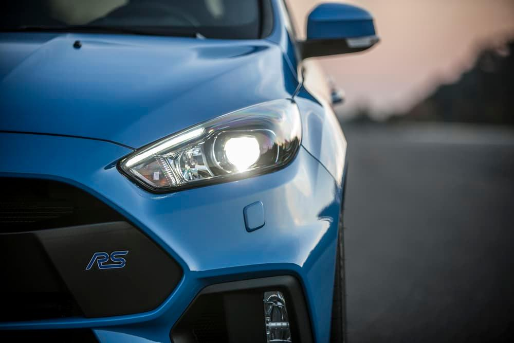 The Focus RS Mountune is powered by the same 2.3-liter EcoBoost as the base RS
