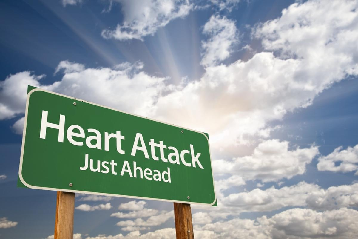 New findings have identified a blood test which could predict heart attack or stroke weeks prior to their occurrence (Photo: Shutterstock)