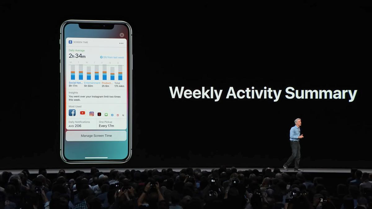 Both iOS and Android are getting digital wellbeing features