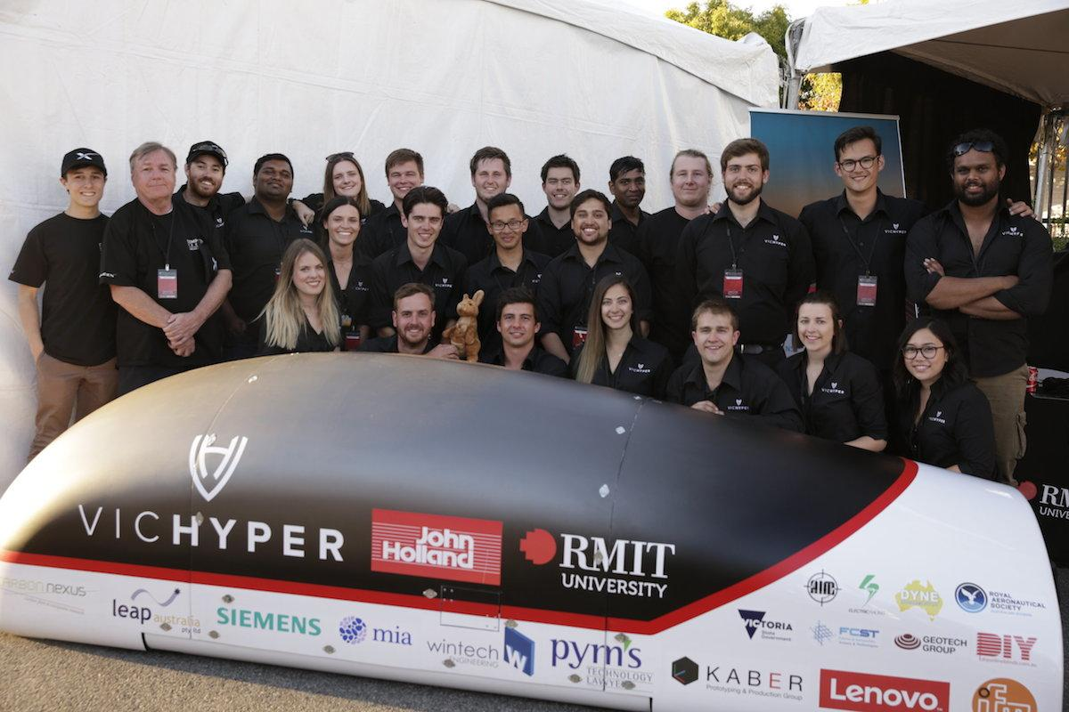 New Atlas chats with Zac McClelland, Project Leader of VicHyper, about taking part in the SpaceX Hyperloop Pod Competition