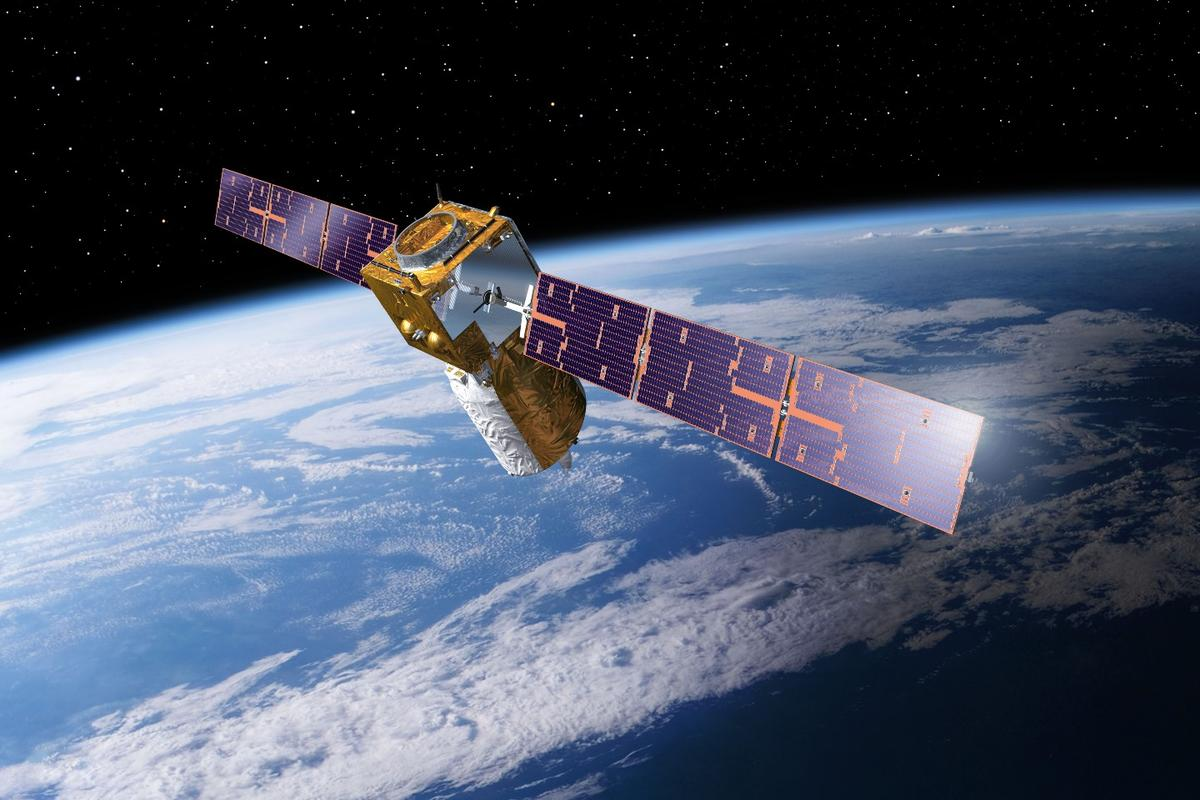The Aeolus satellite will used advanced lasers to track global winds