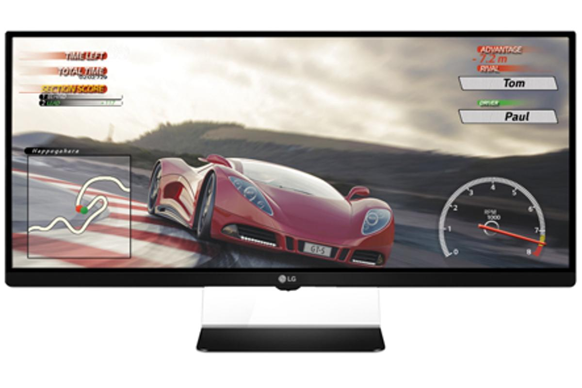 LG's new 34UM67 ultra-wide monitor features AMD FreeSync for smoother PC gaming
