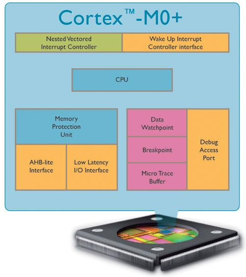 The ARM Cortex-M0+ is the world's most efficient processor