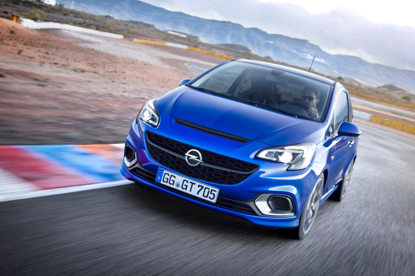 The Corsa OPC is powered by a 1.6-liter ECOTEC engine