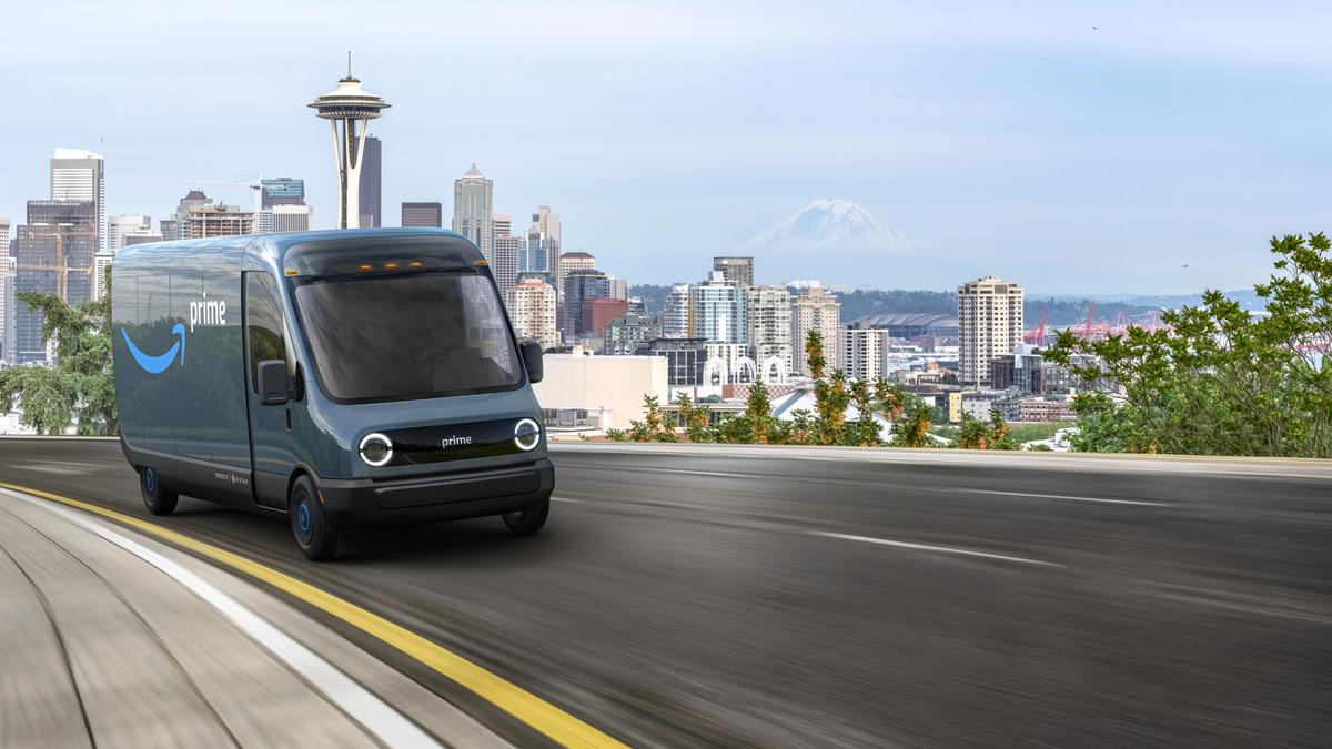 Amazon buys 100,000 Rivian electric delivery trucks