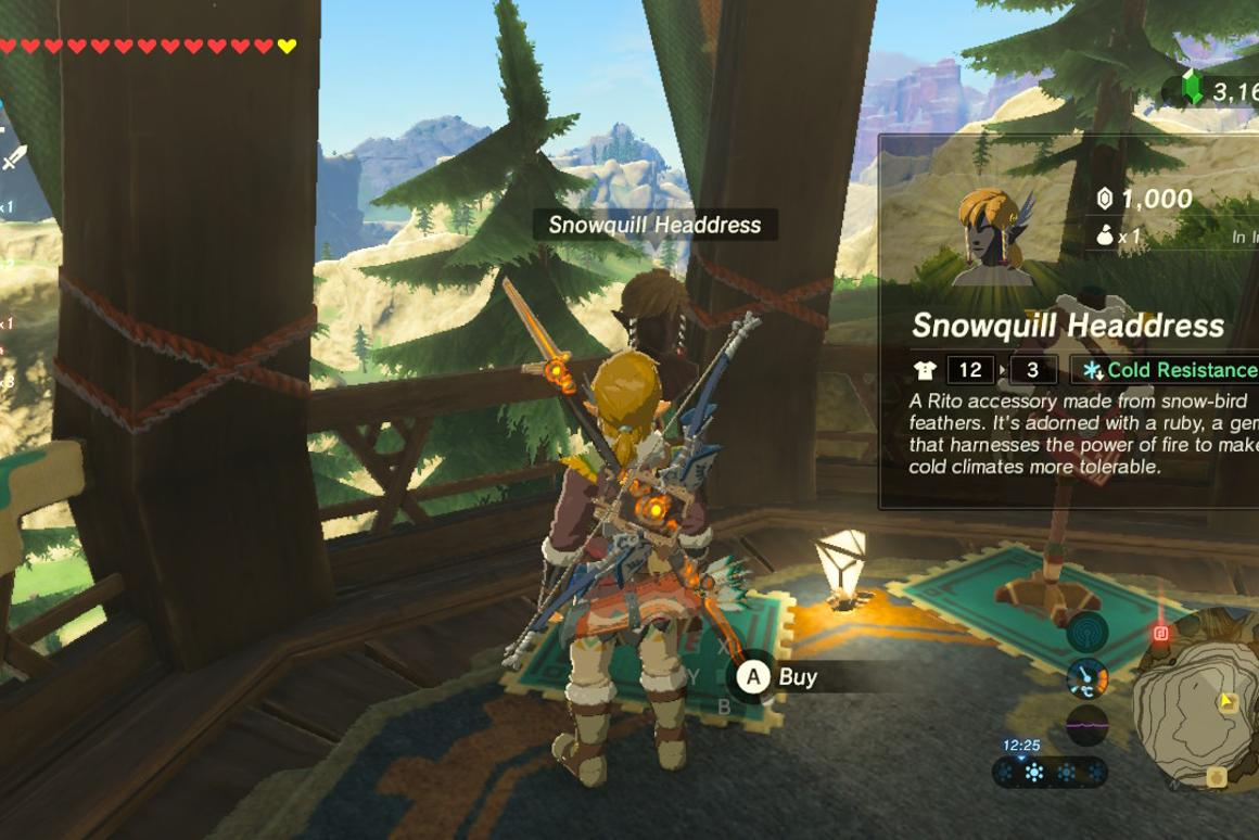 Easy money: how to make rupees quickly in Breath of the Wild