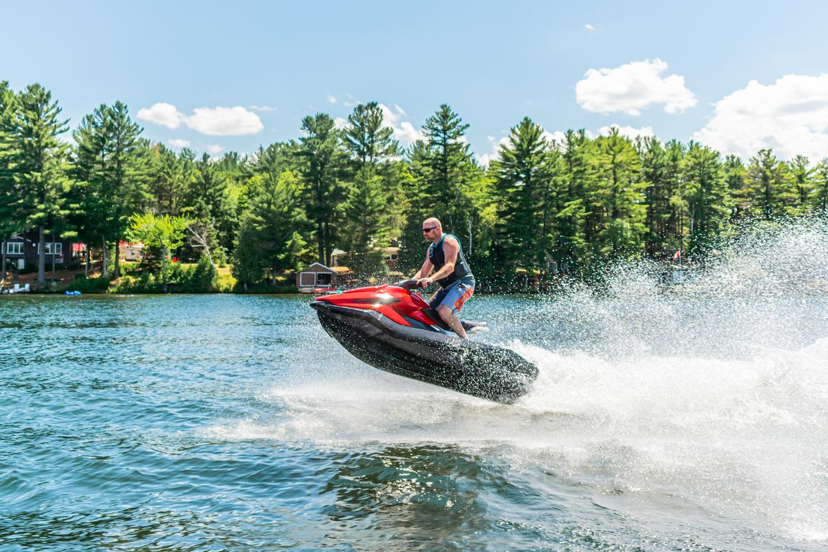 Taiga's new electric jet ski additions are scheduled for delivery from the middle of 2021