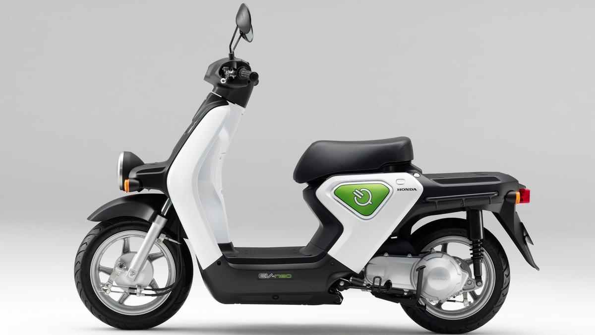 Honda's EV-neo electric scooter