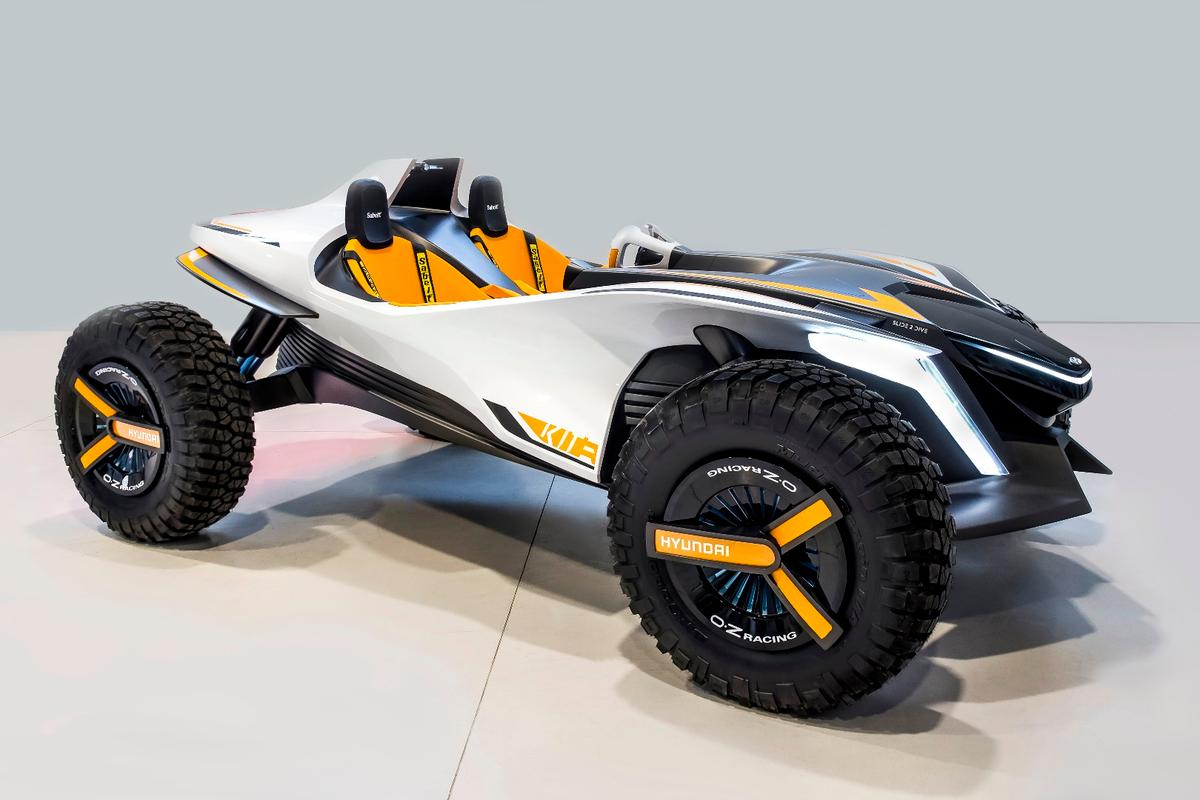 Hyundai Kite: looks pretty rad as a dune buggy