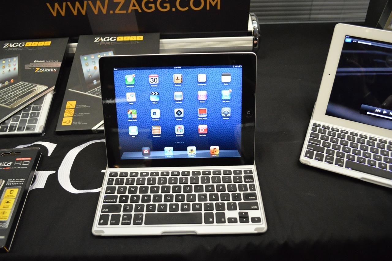 The ZAGGKeys PRO will cost US$99 (EUR109) and the PRO Plus will run US$129 (EUR139) when they are release at the end of September