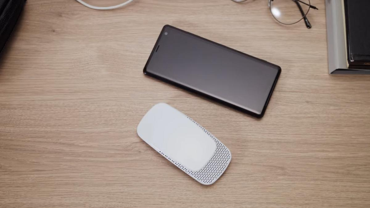 The Reon Pocket is operated via a smartphone app