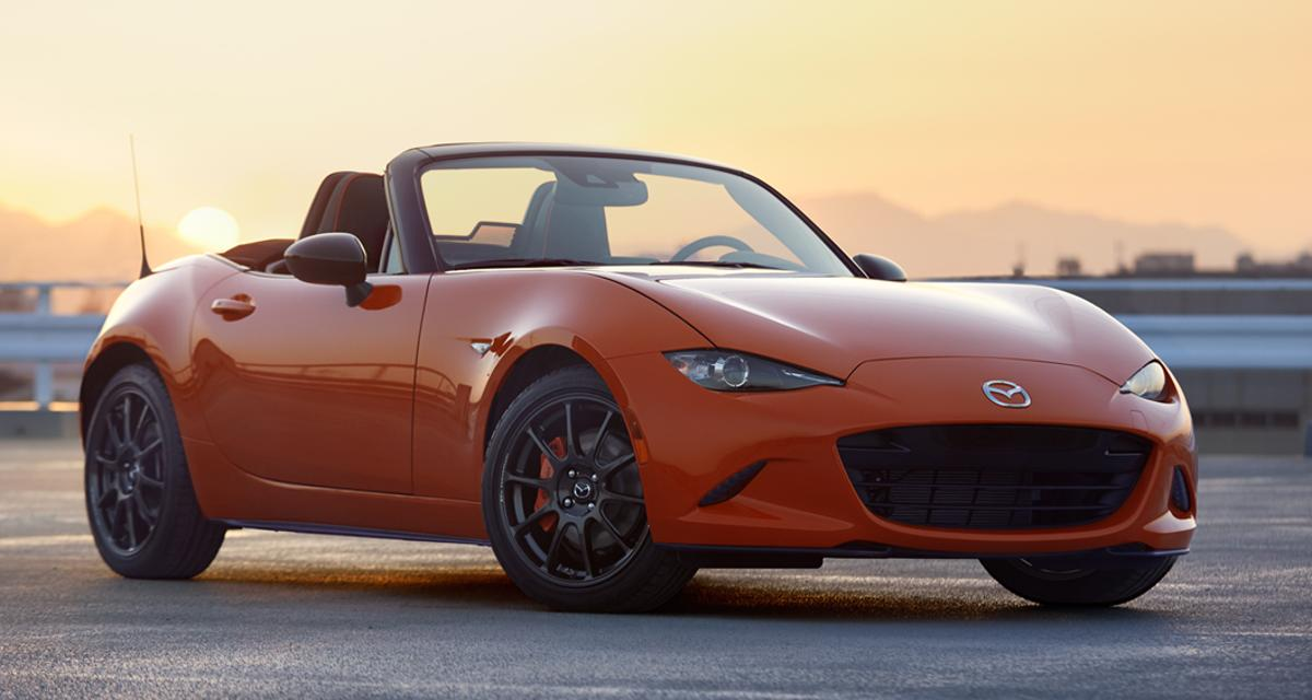 Mazda unveiled the MX-5 Miata 30th Anniversary in Chicago