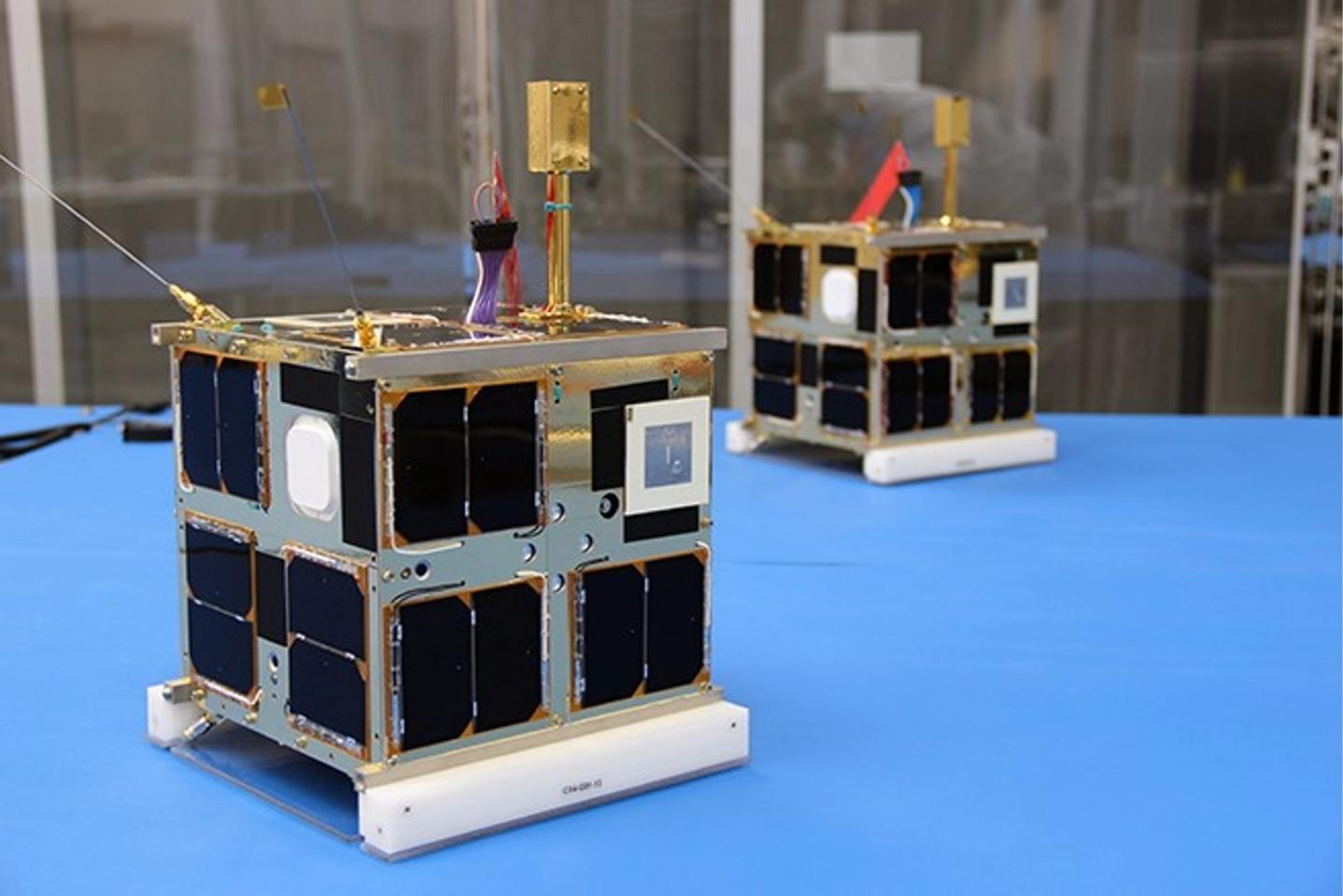 CanX-4 and CanX-5 are a pair of identical nanosatellites built by the Space Flight Laboratory and launched in June 2014