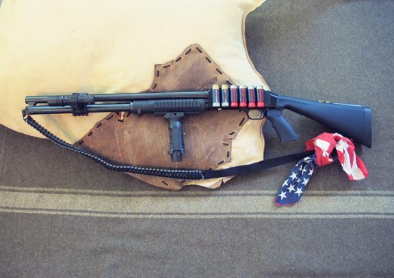 Creek Stewart has built a shotgun that makes for a pefect survival tool (Photo: Creek Stewart)