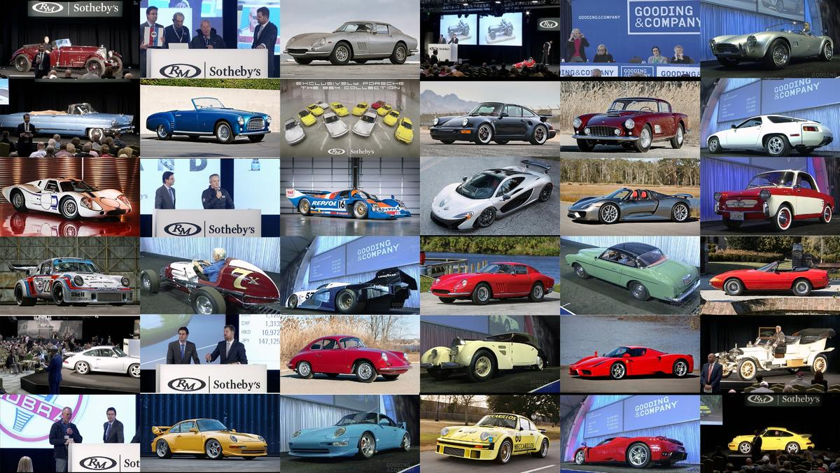 Every high bid or saleprice for everycar from the of the23rd annual Amelia Island Concours d'Elegance auction sales of Gooding & Company, Bonhams, and RM-Sothebys