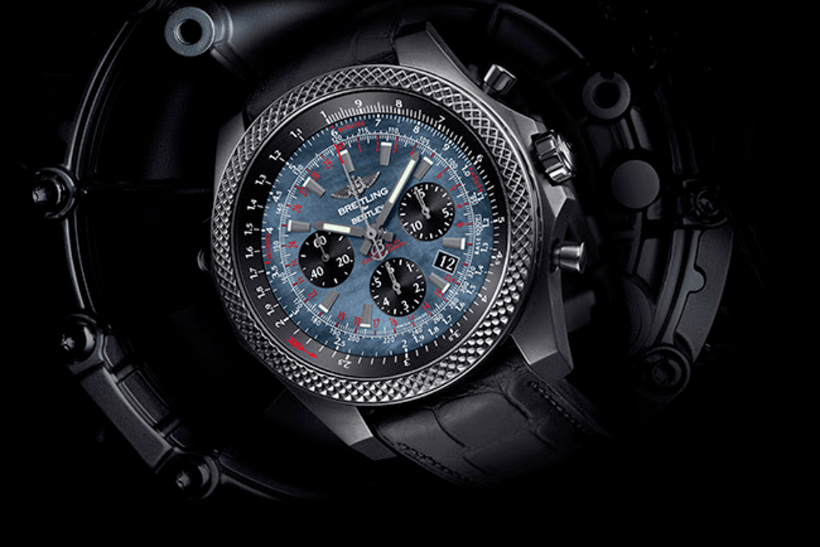 Bentley and Breitling have teamed up for the new B06 Midnight Carbon