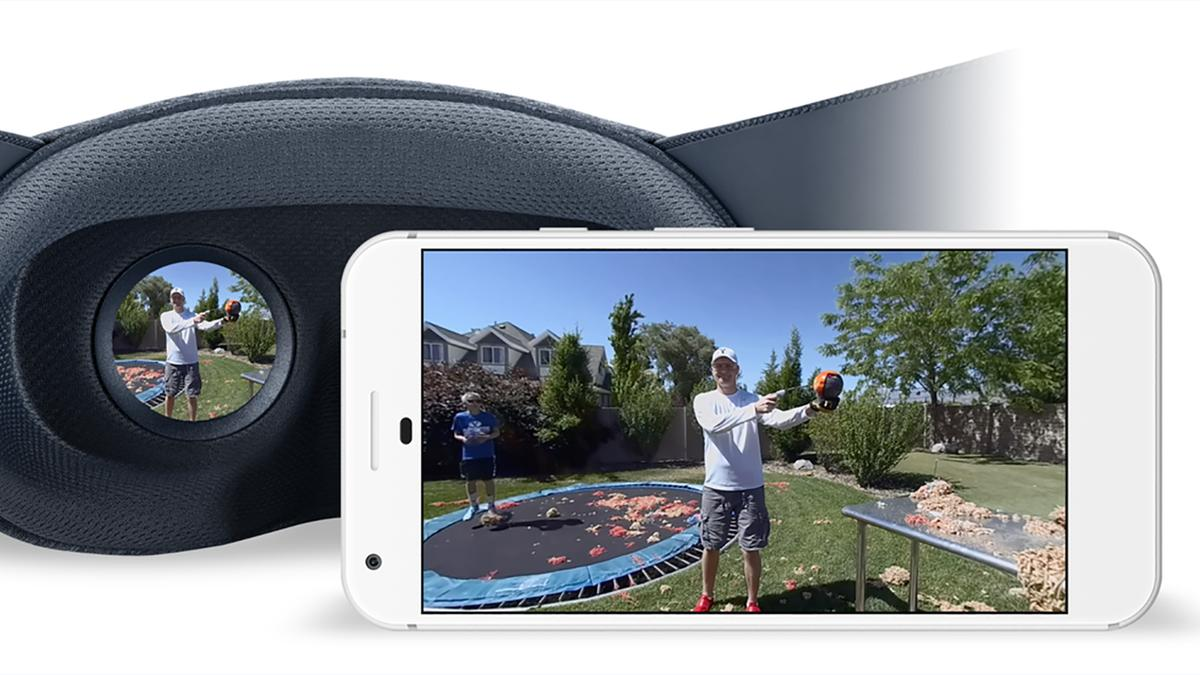 VR180 ignores the world behind you tomakevirtual reality simpler for viewers and creators