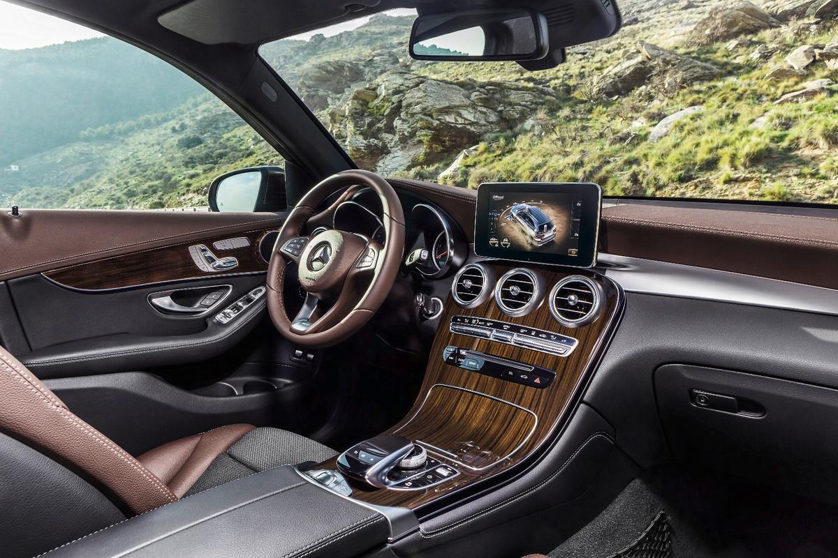 The new Mercedes GLC