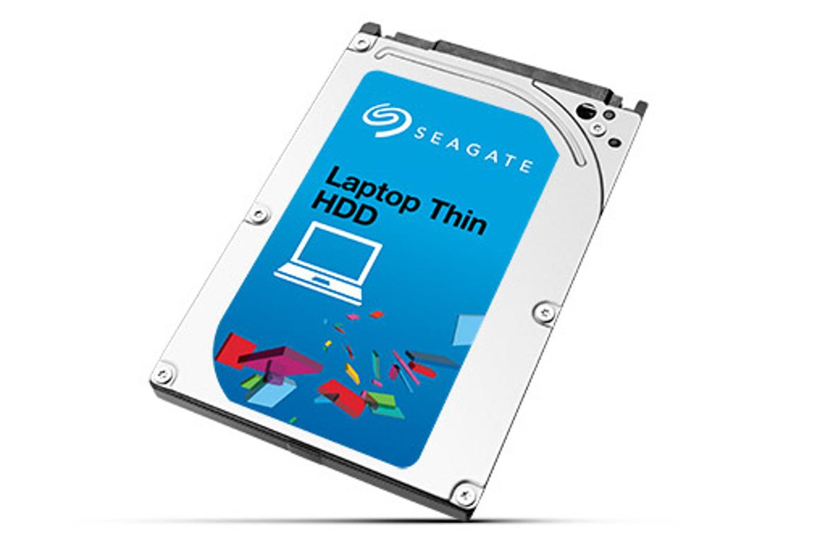 Seagate has announced a 2 TB 2.5-inch HDD (not pictured) that is just 7 mm thick