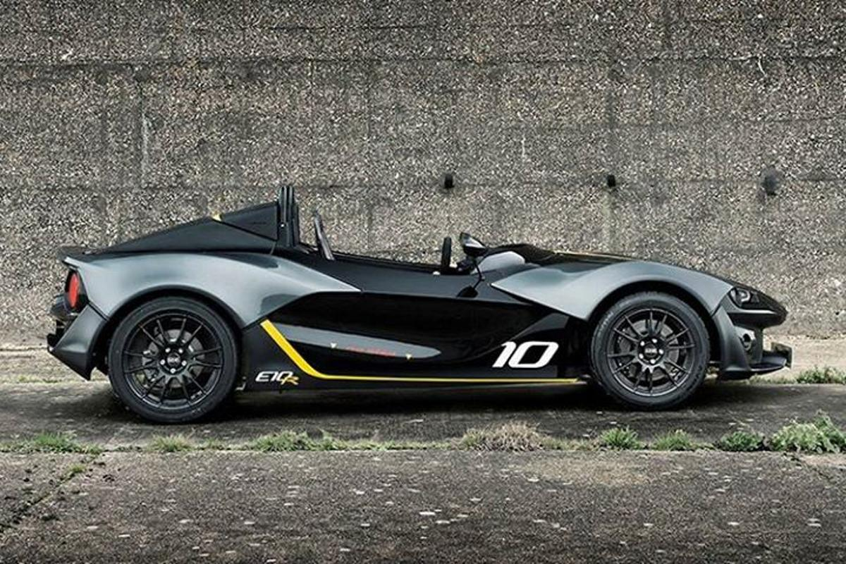 The E10R will start at just under £40,000, unless owners start flicking through the options list