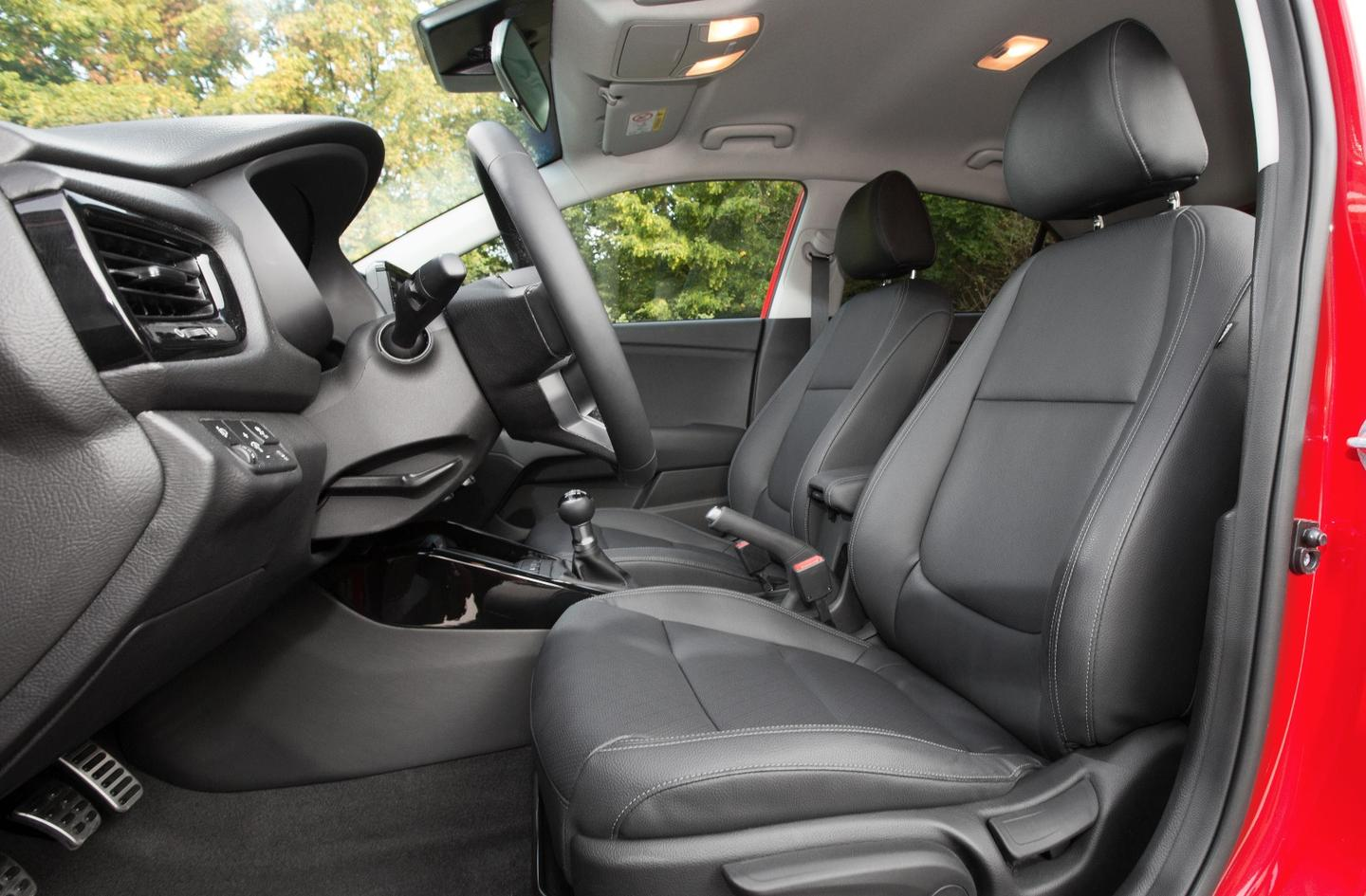 The cabin of the new Rio is a big step forward for the brand