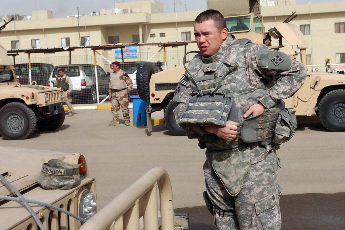 Traditional U.S. Military body armor by The U.S. Army via Flickr