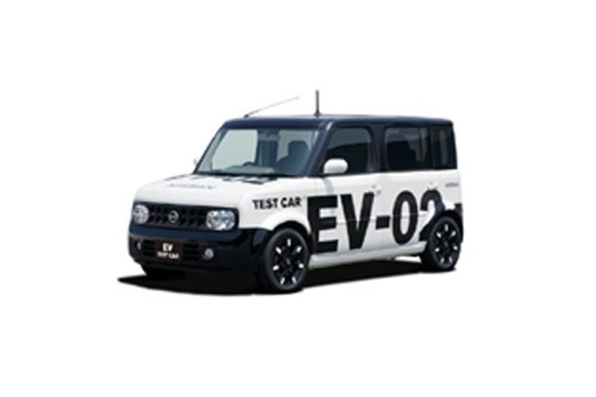 Nissan's EV-02 electric test vehicle