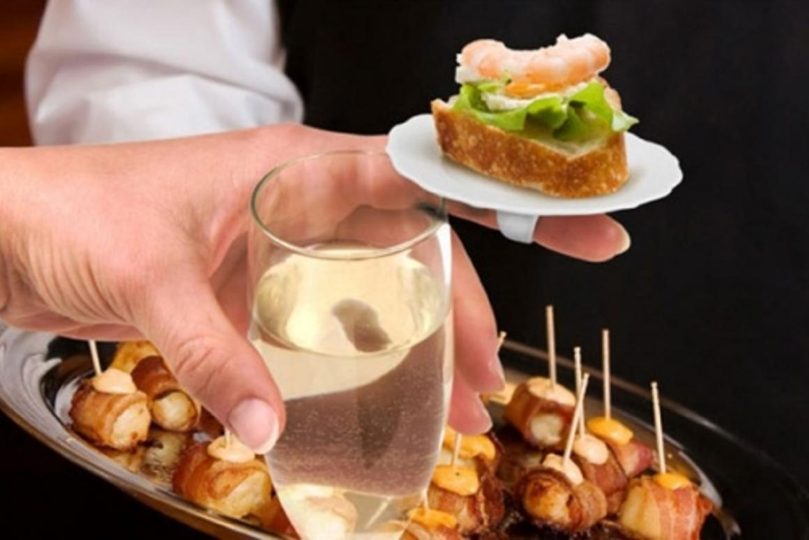 Fingerfood - never lose another prawn