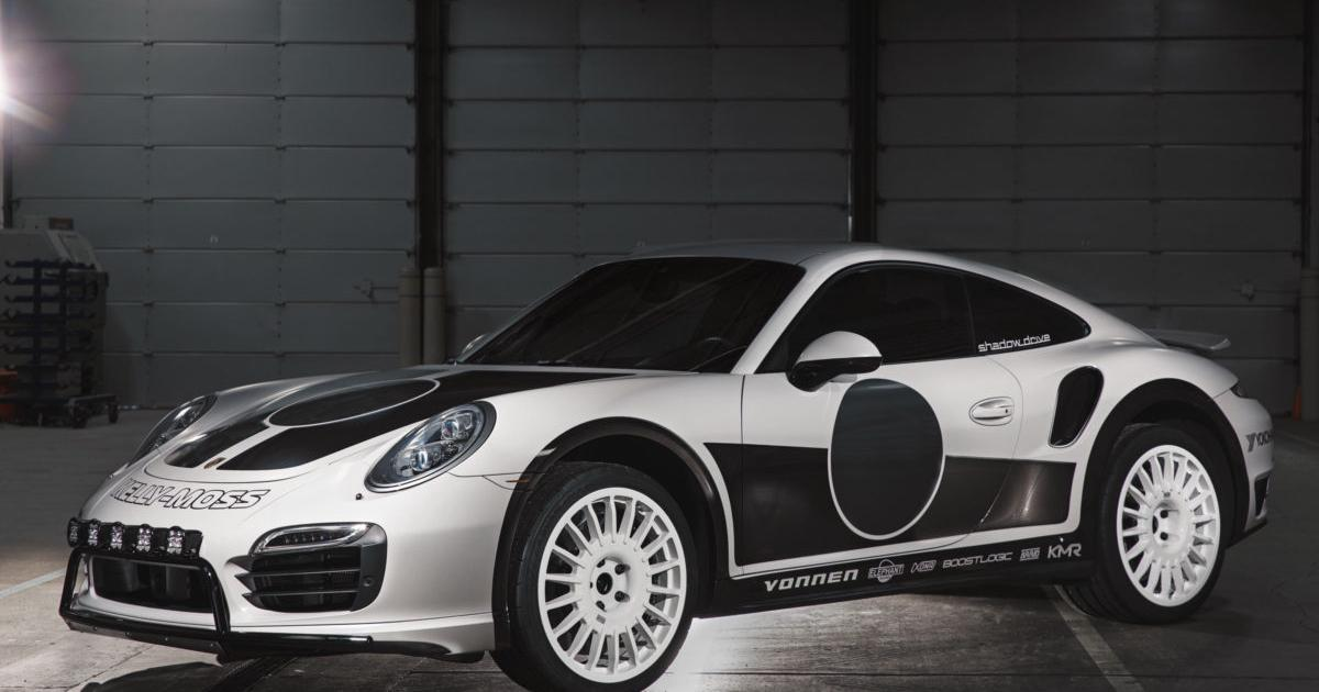 Porsche 911 Turbo S gets electrified power boost and safari look