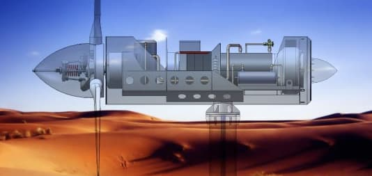 Artist's rendering of the Eolewater WMS1000