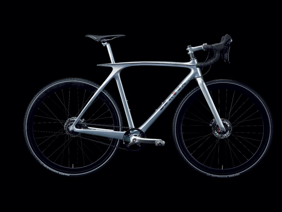 The De Rosa Metamorphosis, set up as a gravel bike