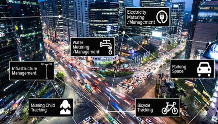 Samsung and SK Telecom are partnering to roll out a public Internet of Things network across South Korea