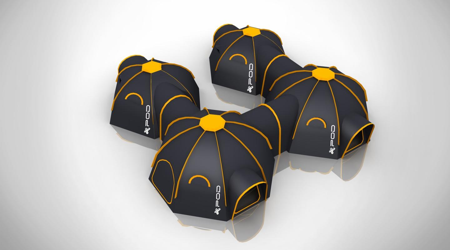 POD Tents are a design from the United Kingdom