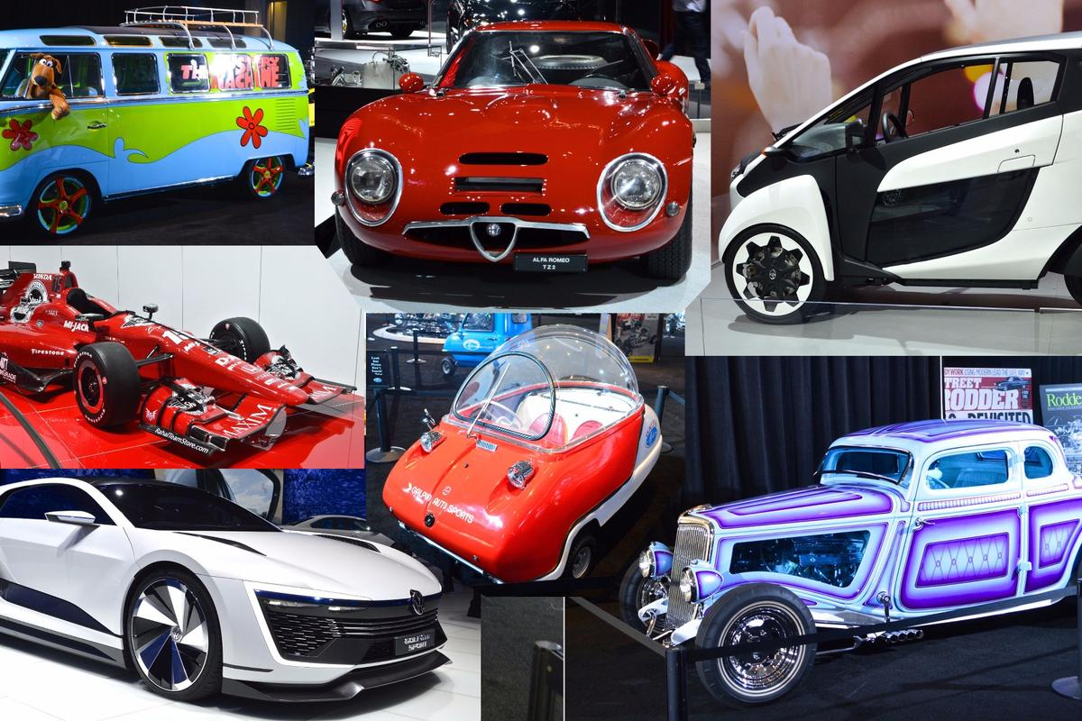The 2015 LA Auto Show offered something for everyone