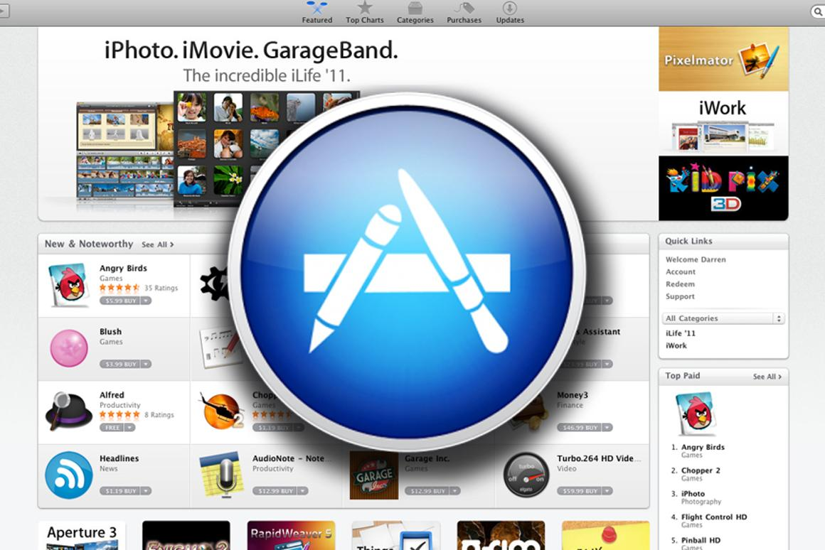 Apple's Mac App Store is now open for business
