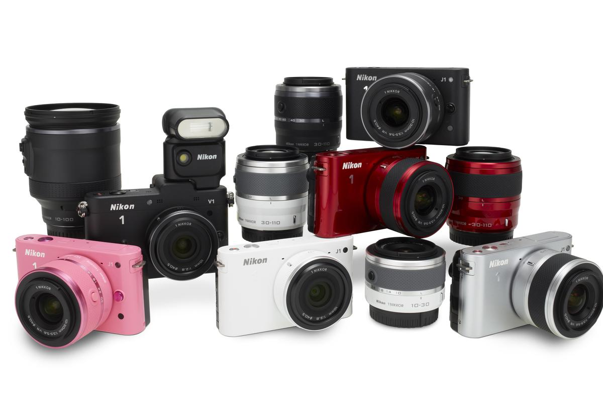 Nikon has joined the mirrorless, interchangeable lens camera party with its new 1 system