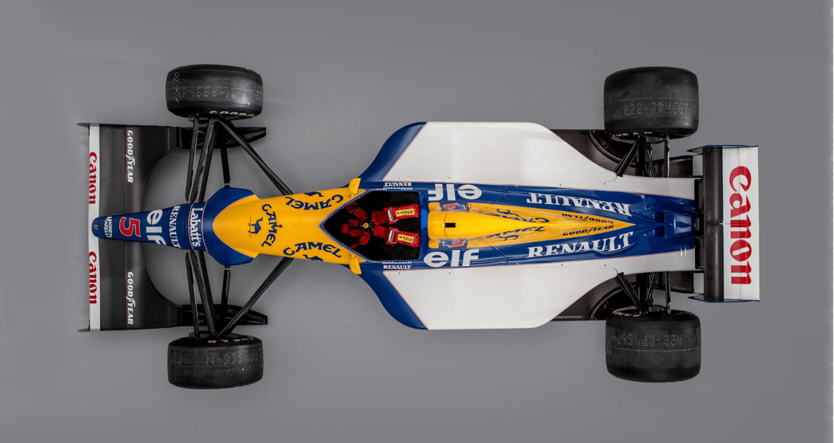 Williams-Renault FW15B   Started 13 Grands Prix,fivewins, two second places,seven pole positions, four fastest laps Bonhams 2019 Goodwood Festival of Speed Sale