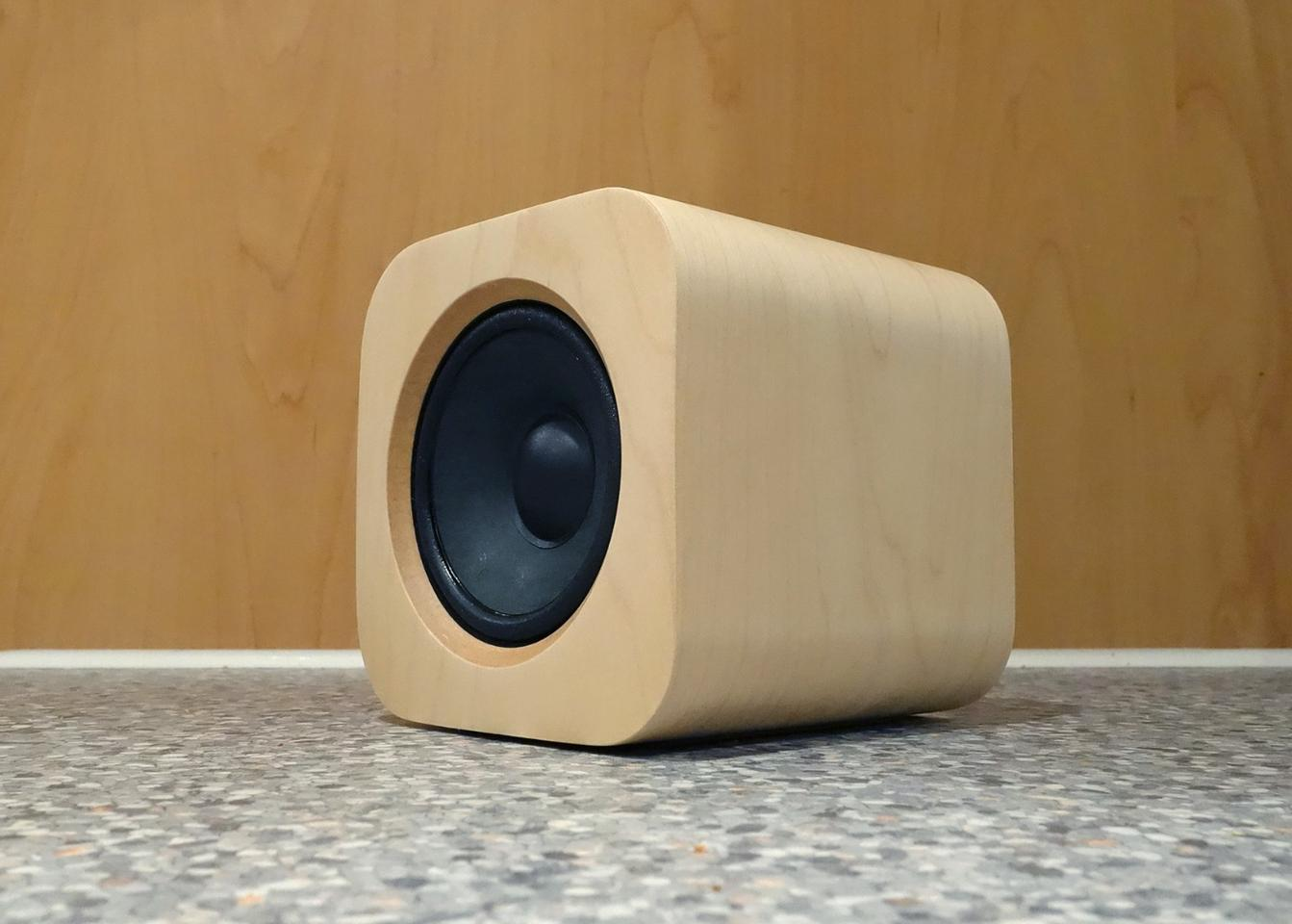 The Sugr Cube carries a hefty audio punch in a small form factor