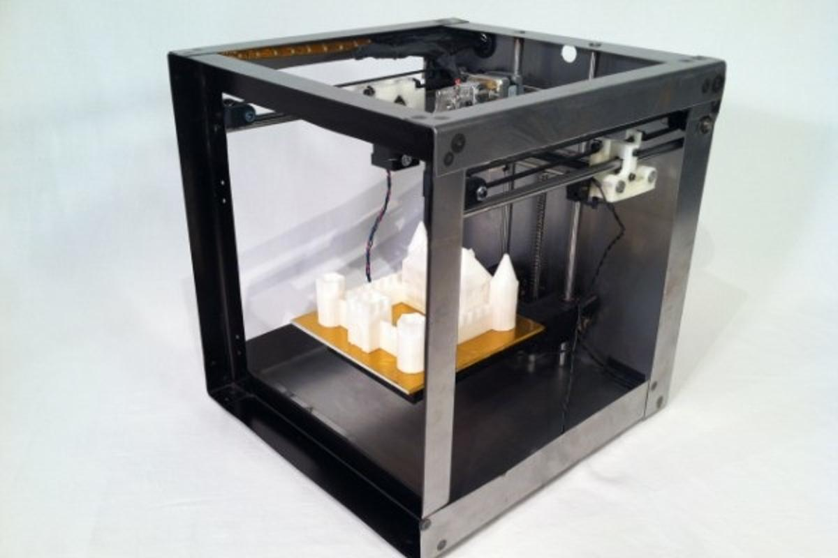 The Solidoodle 2 3D printer