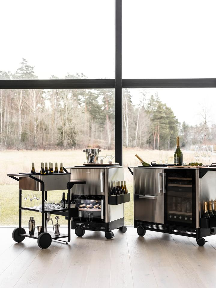 Dometic parks the RV and uses its design expertise for a lineup of three home bars