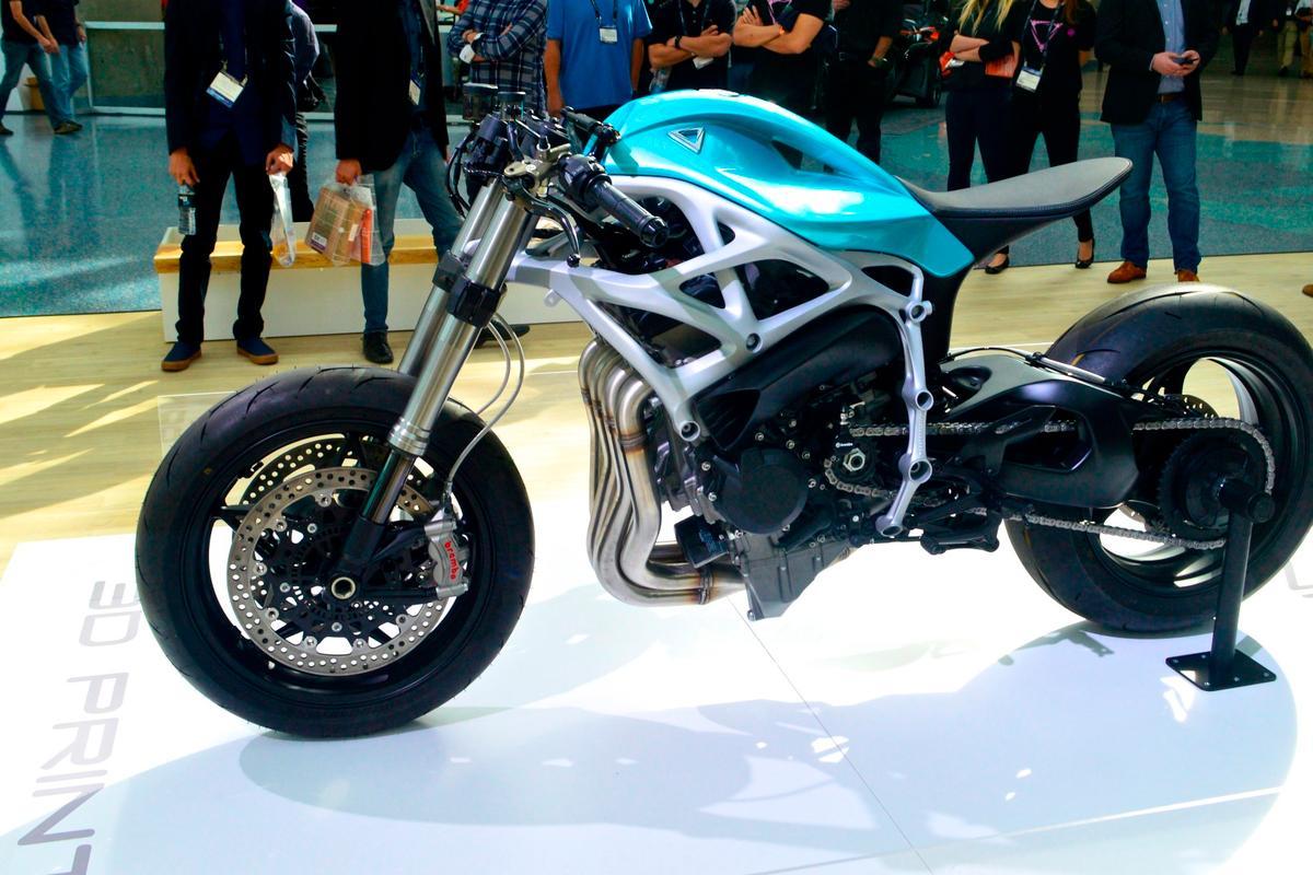 The Dagger isbased on the extraordinary supercharged motor from the Kawasaki Ninja H2