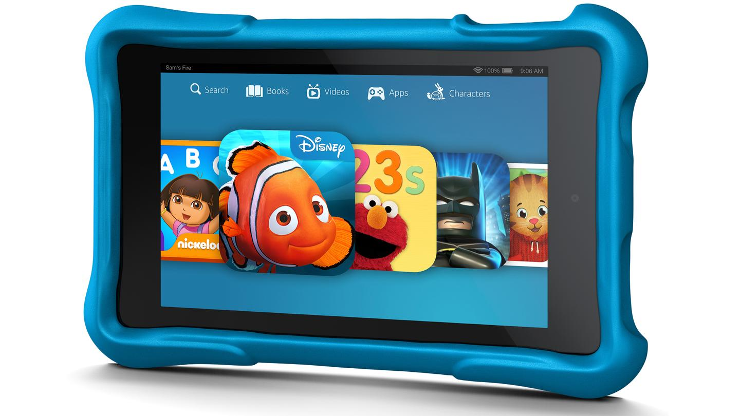 Amazon's Kindle Fire HD Kids Edition is a durable, child-friendly tablet
